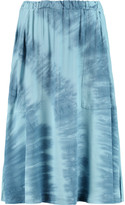 Kain Label Tilly tie-dyed crepe skirt