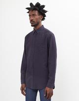 Gant The Seersucker Shirt Navy