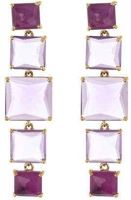 Ippolita 18K Gold Rock Candy(R) 5-Stone Linear Post Earrings