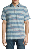 Faherty Cotton Striped Polo