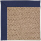 Zeppelin Machine Tufted Navy/Brown Indoor/Outdoor Area Rug Longshore Tides Rug Size: Rectangle 9' x 12'