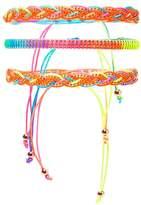 Forever 21 FOREVER 21+ Neon Beaded Bracelet Set