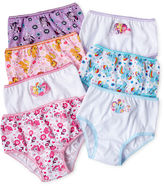 My Little Pony Novelty Licensed 7-pk. Brief Panties - Toddler Girls 2t-4t