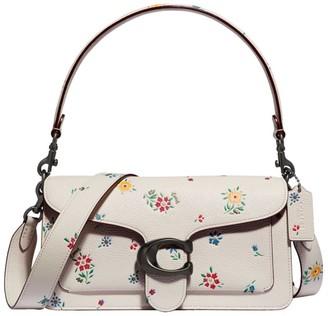 Coach Tabby Wildflower-Print Leather Shoulder Bag