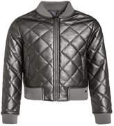 Tiffosi LEAN Faux leather jacket grey