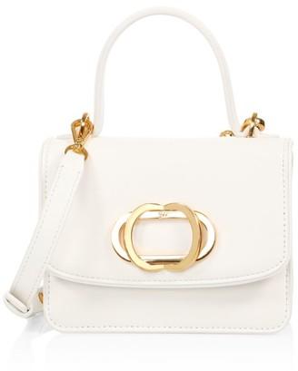 Stuart Weitzman Kayte Leather Top Handle Bag