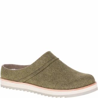 Merrell Women's Juno Clog Wool/Olive Shoe