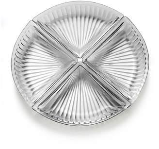 Mikasa Revel Four-Piece Glass Serve Plate