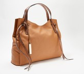 Vince Camuto Leather Tote with Knot Detail - Rilo