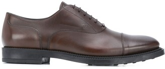 Tod's embossed logo lace-up Derby shoes