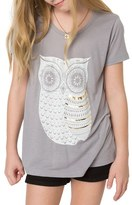 O'Neill Girl's Owlie Graphic Tee