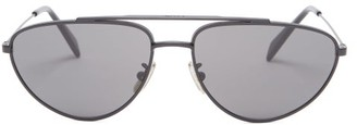 Celine Aviator Metal Sunglasses - Black