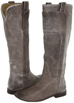 Frye Paige Tall Riding (Grey) - Footwear