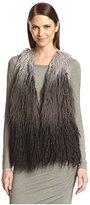 Anna Sui Women's Ombre Faux Fur Vest