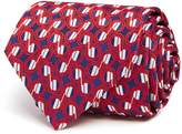 Turnbull & Asser Connected Notes Wide Tie