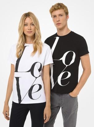 MICHAEL Michael Kors Watch Hunger Stop LOVE T-Shirt