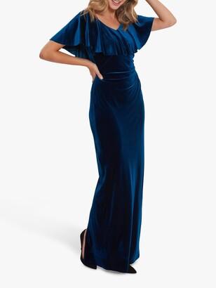 Gina Bacconi Elexina Velvet Dress