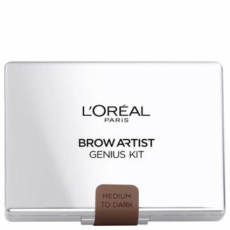 L'Oreal Brow Artist Genius Brow Kit - Medium Dark 3.5g