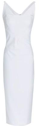 Zac Posen Asymmetric Stretch-jersey Midi Dress