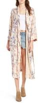 Hinge Women's Floral Print Robe