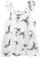 O'Neill Toddler Girl's Flutter Sleeve Top