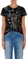Valentino Women's Astro Cotton T-Shirt-NAVY