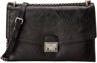 Frye Ella Flap Leather Shoulder Bag