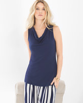 Soma Intimates Soft Jersey Sleeveless Cowl Neck Top