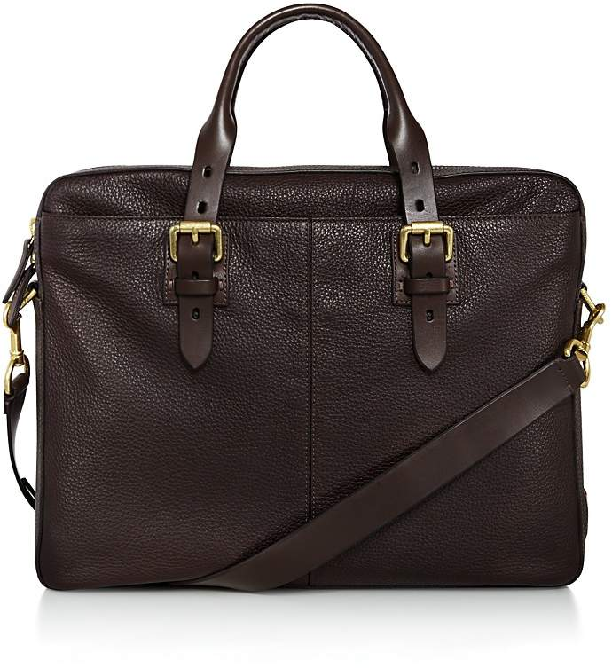Cole Haan Brayton Pebbled Leather Briefcase