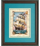 Dimensions Needlecrafts Counted Cross Stitch, Voyage at Sea