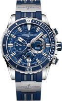 Ulysse Nardin 1503-151-3/93 Marine Diver Chronograph stainless steel watch