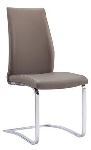 Orren Ellis Sojitra Upholstered Side Chair Color: Taupe
