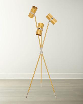 Jonathan Adler Caracas Task Tripod Floor Lamp