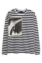 H&M Long-sleeved Jersey Shirt