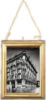"Nkuku Kariba antique brass photo frame 7x5"""