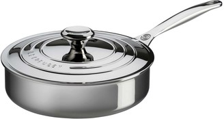 Le Creuset Stainless Steel 3-Qt. Saute Pan with Lid