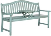 The Well Appointed House Arched Bench in Beach House Blue Finish - CURRENTLY ON BACKORDER UNTIL MID OF FEBRUARY 2017