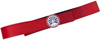 Loewe Red Leather Belts