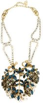 DSQUARED2 Navette Crystal Dimensional Statement Necklace
