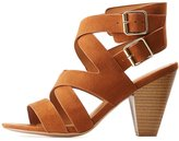 Charlotte Russe Buckled Strappy Sandals