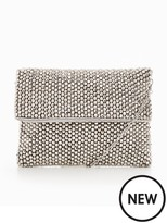 Forever Unique Sparkle Foldover Clutch Bag