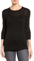 Halogen Metallic Knit Sweater