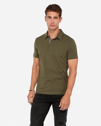 Express Solid Performance Polo