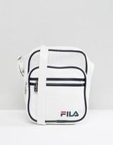 Fila Vintage Aldrich Shoulder Bag In White