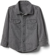 Gap 1969 Grey Western Denim Shirt