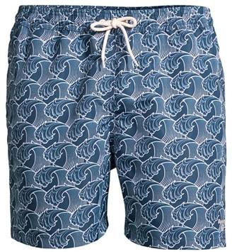Barbour Wave Swim Trunks