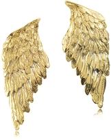 Forzieri Bernard Delettrez Bronze Wings Earrings