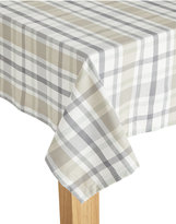 Marks and Spencer Check Woven Tablecloth