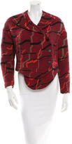 Opening Ceremony Patterned Cropped Jacket