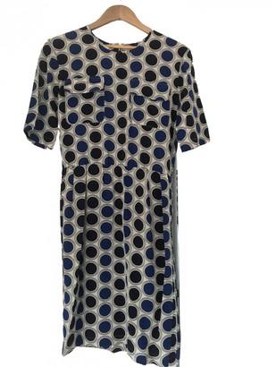 Marni Blue Silk Dresses